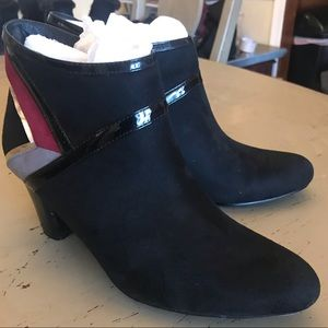 Shoes - Black Elite Ankle Boots 7.5